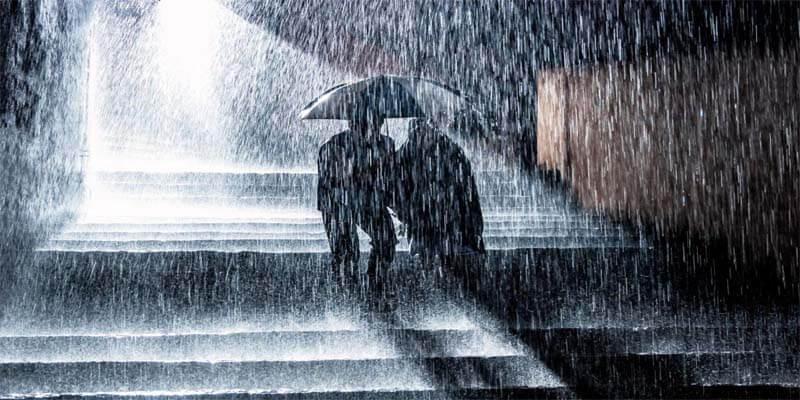 كلمات جميلة عن المطر