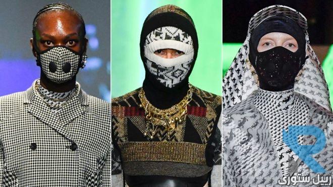 فيروس كورونا: أقنعة وجه في أسبوع الموضة في باريس وسط مخاوف متزايدة من الوباء