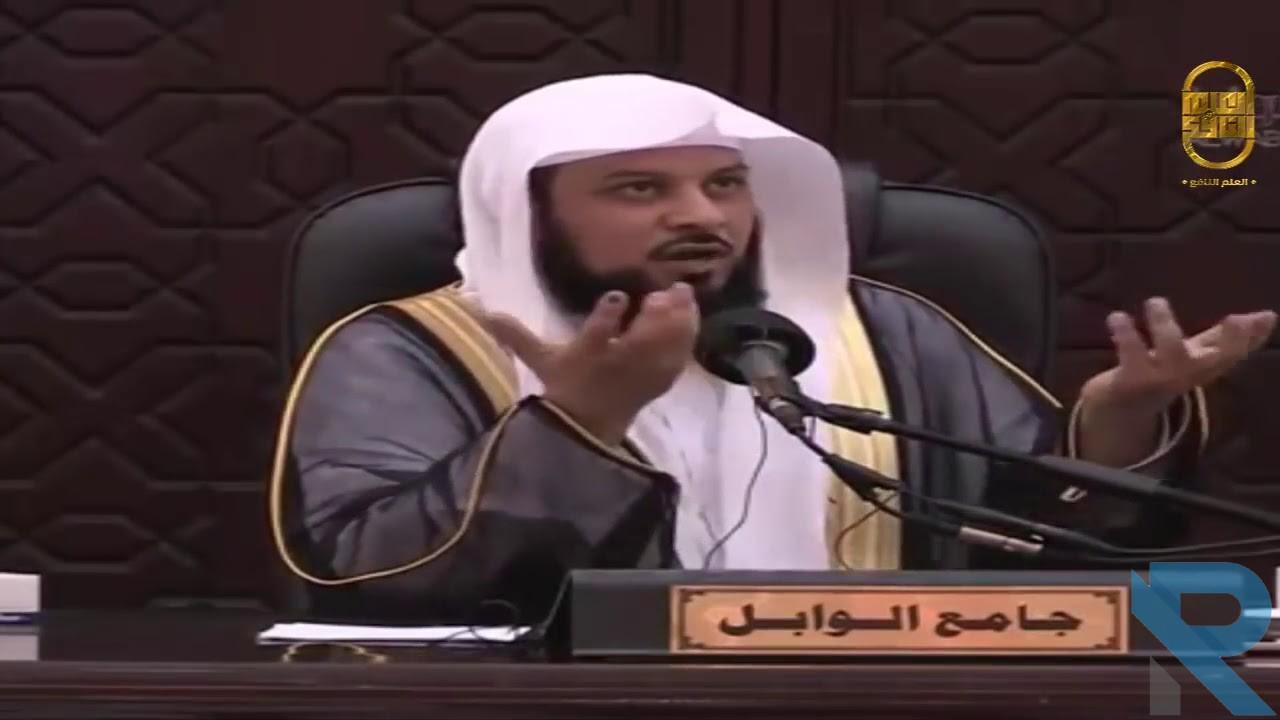 قصة 'مناظرة الإمام أبو حنيفة والملحدين' محمد العريفي اجمل القصص