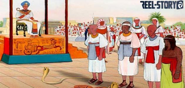قصة نبي الله موسى عليه السلام مع سحرة فرعون
